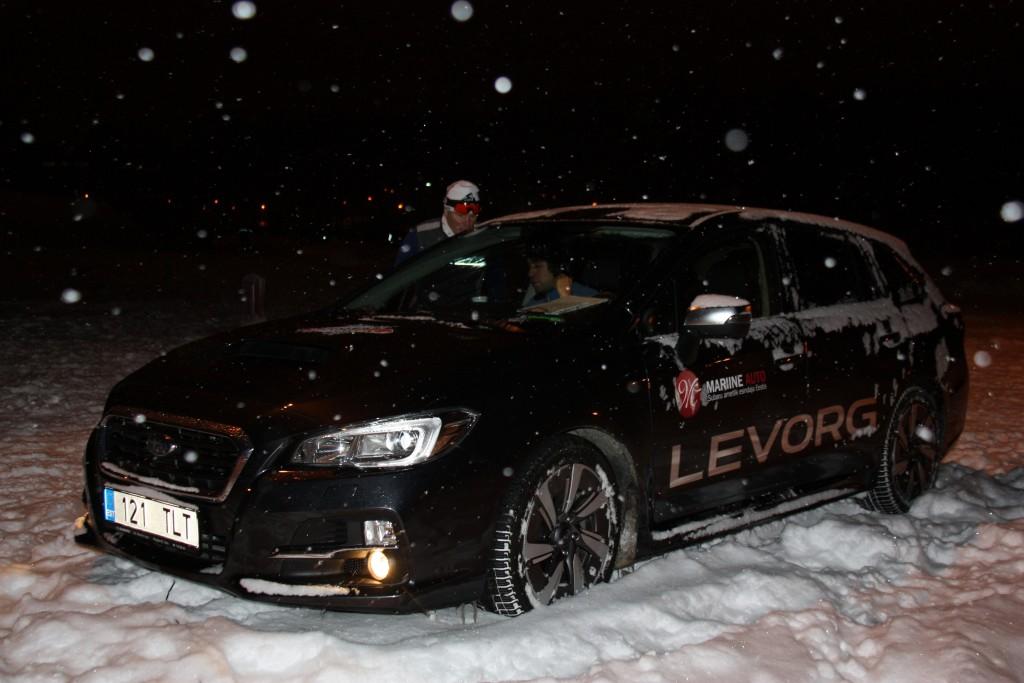 Jaak Teppan Subaru Levorgi mugavusi testimas