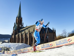 03.02.2016, Drammen, Norway (NOR): Peeter Kummel (EST) - FIS world cup cross-country, individual sprint, Drammen (NOR). www.nordicfocus.com. © Felgenhauer/NordicFocus. Every downloaded picture is fee-liable.